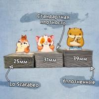 Как выбрать плотность карт?