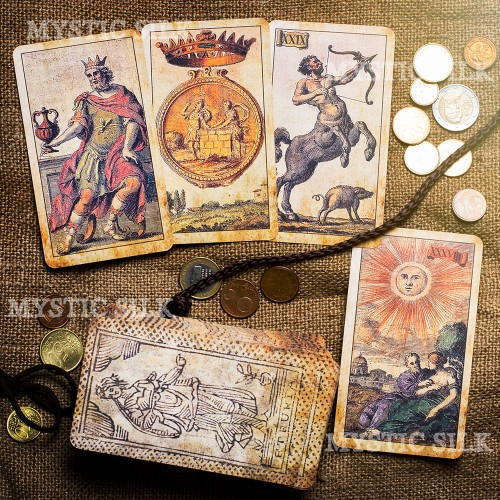 Таро Древняя Миниатюра Этрурия  (Ancient Minchiate Etruria Tarot)