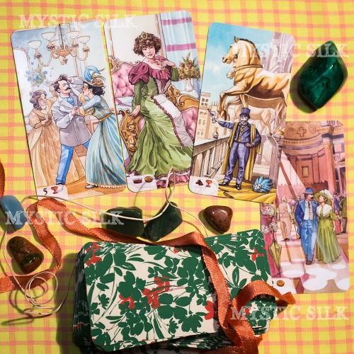Романтическое Таро (безрамочное) (Romantic Tarot (borderless))
