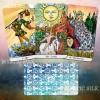 Красочное Таро Райдера Уайта (безрамочное) (Colorful Rider-Waite Tarot (borderless))