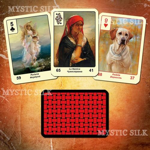Цыганский оракул Красное и Черное (Gypsy Oracle Red and Black)